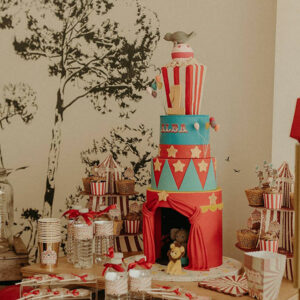 circus cake design