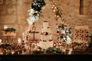 naked cake et sweet table en Gironde